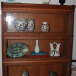 Antique oak Stacking bookcase