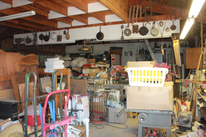 Warehouse and loft full of great stuff.